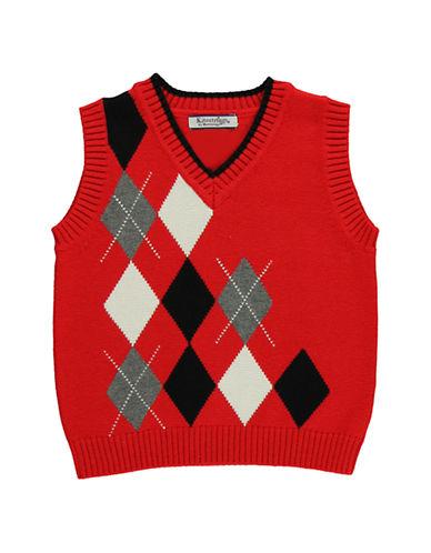 HARTSTRINGSBaby Boys Baby Boys Cotton V Neck Sweater Vest