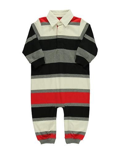HARTSTRINGSBaby Boys Baby Boys Multi Color Stripe Coverall