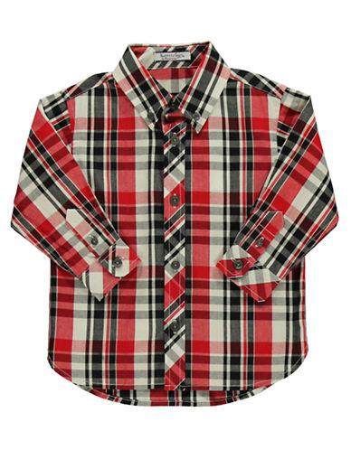 HARTSTRINGSBaby Boys Baby Boys Cotton Plaid Shirt