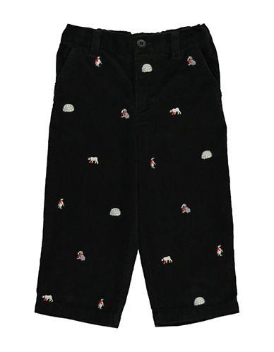 HARTSTRINGSBaby Boys Winter Motif Cotton Corduroy Pants