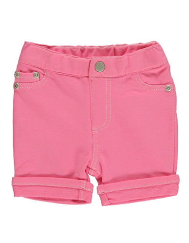 HARTSTRINGSBaby Girls Cotton Spandex French Terry Pull-On Shorts