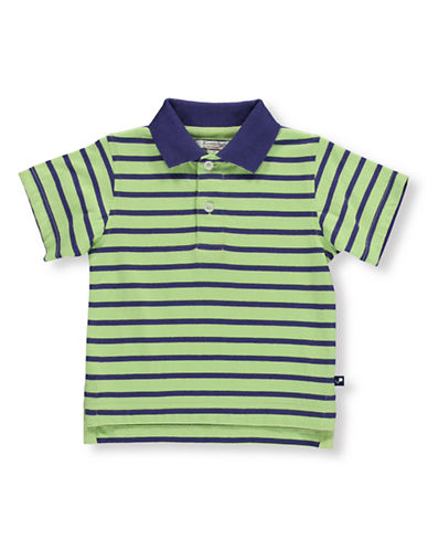 HARTSTRINGSBaby Boys Striped Short-Sleeve Polo