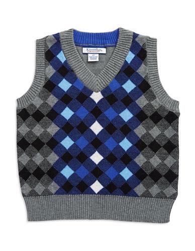 KITESTRINGSBoys 2-7 Plaid Sweater Vest