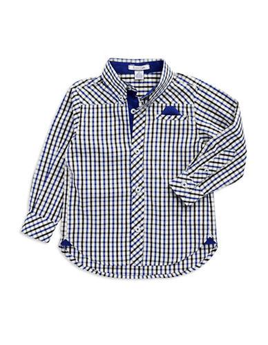 KITESTRINGSBoys 2-7 Checkered Dress Shirt
