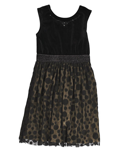 KC PARKERGirls 7-16 Fit and Flare Dress