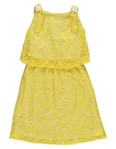 Shop Kc Parker online and buy Kc Parker Girls 7-16 Embroidered Popover Dress dress online