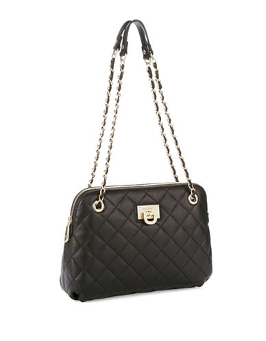 Dkny Quilted Leather Crossbody Bag
