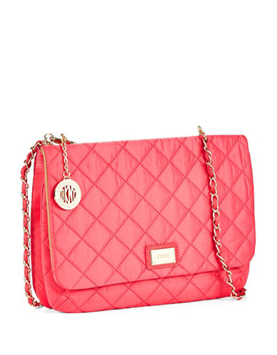 DKNYNylon Quilted Large Clutch