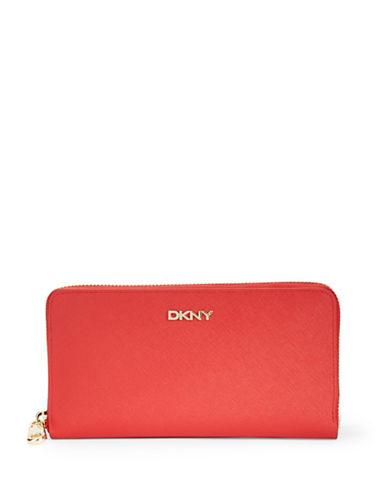 DKNYZip Around Leather Wallet