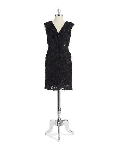MARINASequin Cocktail Dress