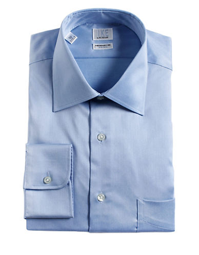 IKE BY IKE BEHAR Regular Fit Cotton Dress Shirt