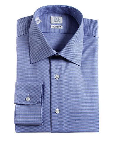 IKE BY IKE BEHARRegular Fit Cotton Dress Shirt