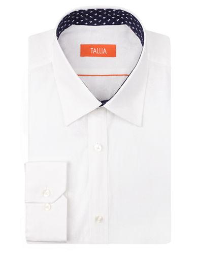 TALLIA ORANGESlim Fit Paisley Print Dress Shirt