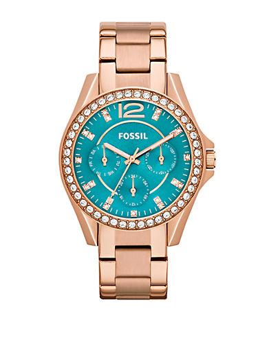 FOSSILLadies Stainless Steel Riley Watch