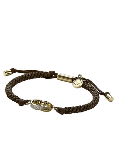 MICHAEL KORS Colorado Topaz and Cord Bracelet
