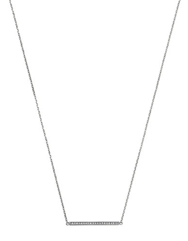 MICHAEL KORS Crystallized Stainless Steel Matchstick Necklace