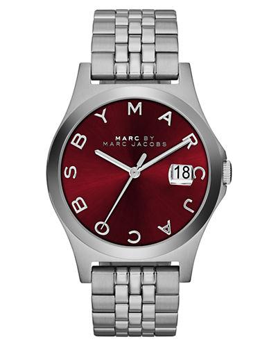 MARC BY MARC JACOBSMens The Slim Stainless Steel Bracelet Watch