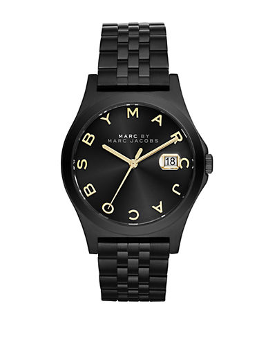 MARC BY MARC JACOBS Ladies Slim Black Bracelet Watch