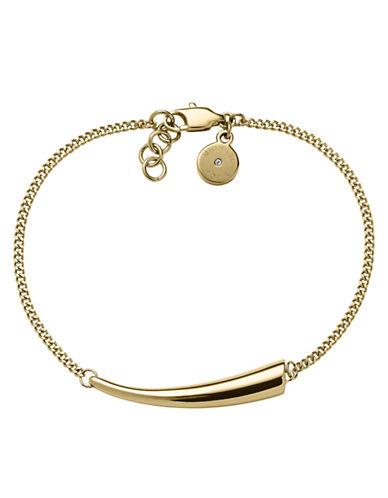 Michael Kors Gold-Tone Horizontal Horn Bracelet