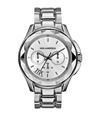 KARL LAGERFELD Karl 7 Stainless Steel Chronograph Watch