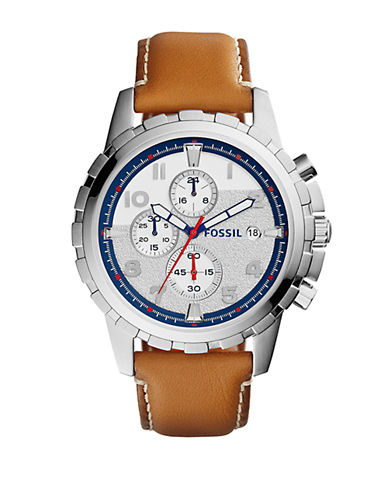 FOSSILDean Stainless Steel Chronograph Watch