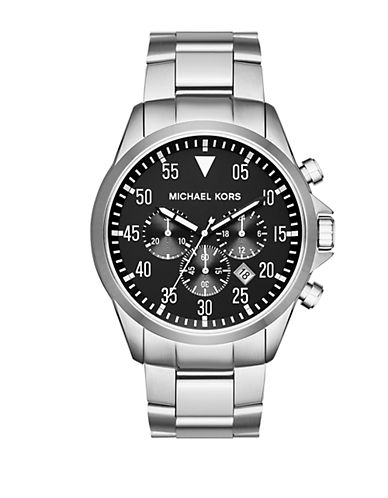 MICHAEL KORSGage Stainless Steel Chronograph Watch