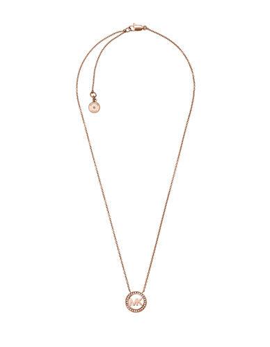 michael kors female 255807 signature sparkle pendant necklace