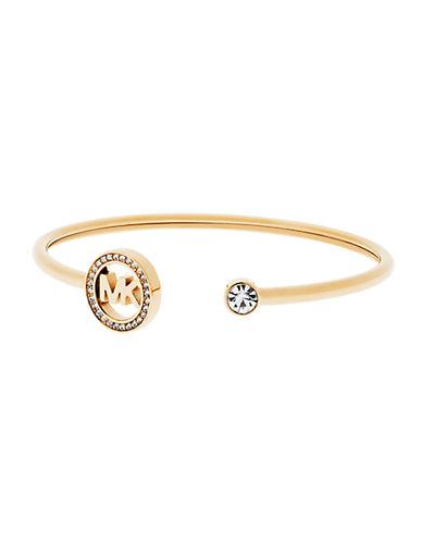 michael kors female 220183 logo cuff bracelet
