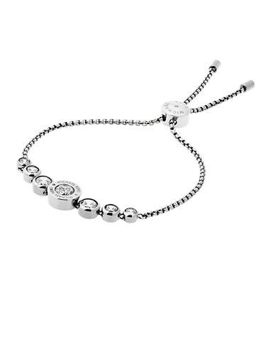 michael kors female 45900 logo glitz bracelet