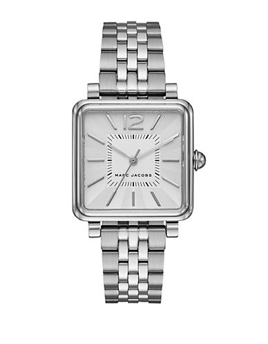 marc jacobs female vic stainless steel bracelet watch