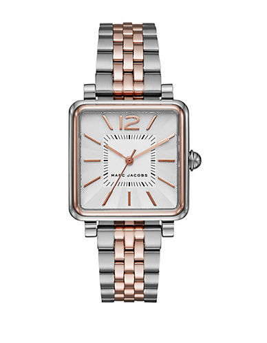 marc jacobs female 46198 mj3463 stainless steel twotone watch