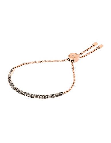 michael kors female cubic zirconia and crystal slider bracelet