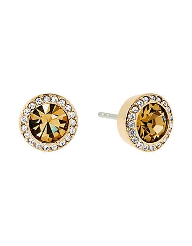 michael kors female cubic zirconia studded stud earrings