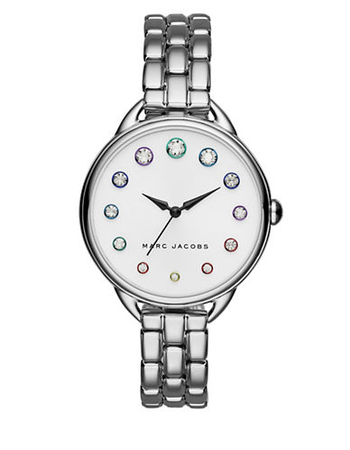 marc jacobs female betty stainlesssteel threehand bracelet watch