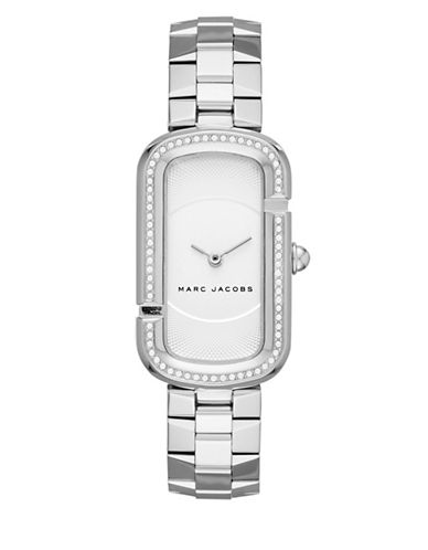 marc jacobs female the jacobs stainlesssteel twohand bracelet watch