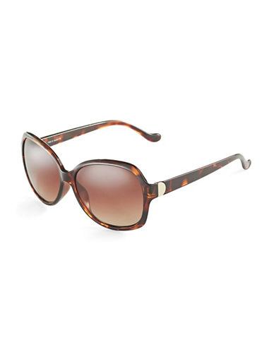 IVANKA TRUMPOversized Tortoise Shell Sunglasses