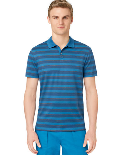 CALVIN KLEIN Auto Bar Stripe Polo