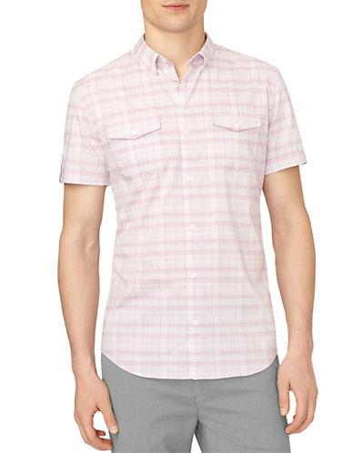CALVIN KLEINSlim Fit Multi Check Dobby Sport Shirt