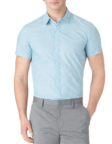CALVIN KLEINSlim Fit Poplin Check Sport Shirt