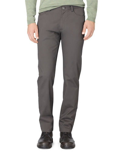 CALVIN KLEINRegular Fit Sateen Bowery Casual Pants