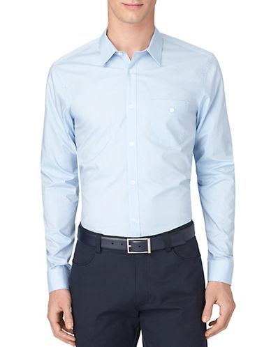 CALVIN KLEINRegular Fit Fine Line Dobby Shirt