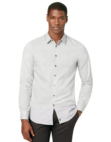 CALVIN KLEINSlim Fit Dobby Woven Sport Shirt