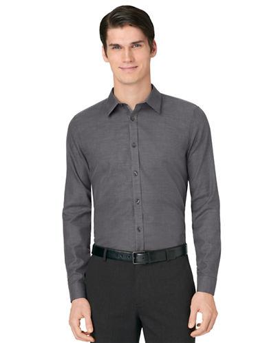CALVIN KLEINSlim Fit Premium Micro Dobby Sport Shirt