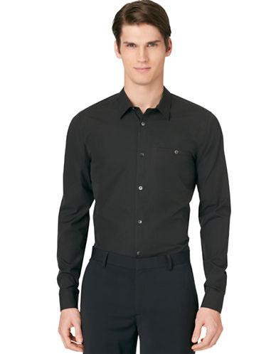 CALVIN KLEINFine Stripe Dashed Dobby Shirt