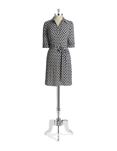 LAUNDRY BY SHELLI SEGALPatterned Shirt Dress
