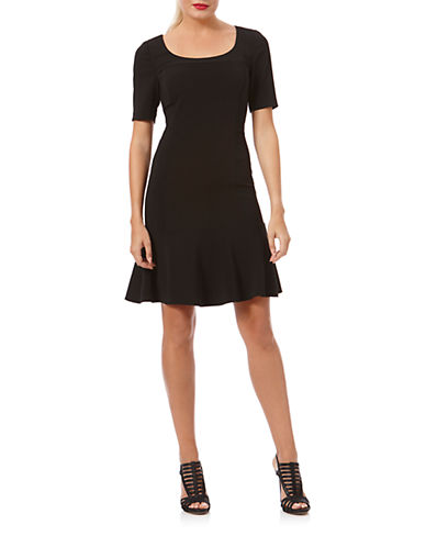 LAUNDRY BY SHELLI SEGALElbow Length A Line Dress