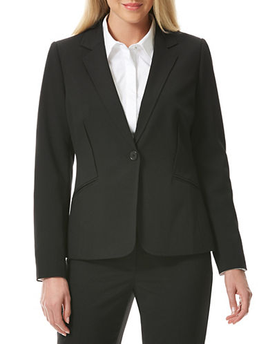 LAUNDRY BY SHELLI SEGALOne Button Curved Back Jacket