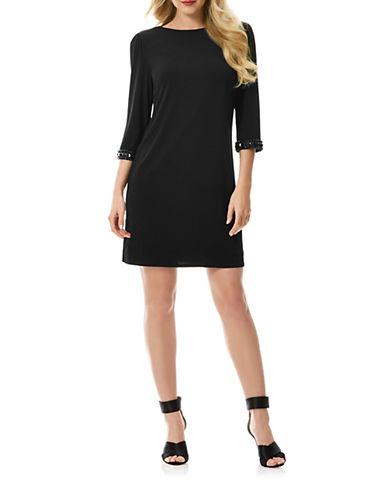 LAUNDRY BY SHELLI SEGALBeaded Cuff Shift Dress