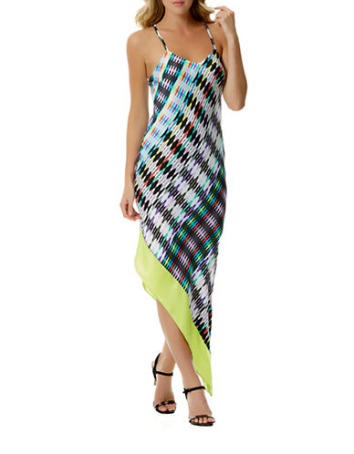 Shop Laundry By Shelli Segal online and buy Laundry By Shelli Segal Asymmetrical Hemmed Dress dress online