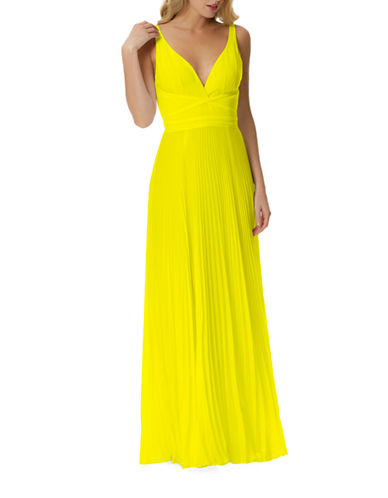 b5c85dd65 ... UPC 799016647254 product image for Laundry By Shelli Segal Pleated  Open-Back Gown | upcitemdb